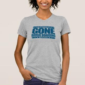 GONE BOOGIE BOARDING - I Love Ocean & Bodyboarding T-Shirt