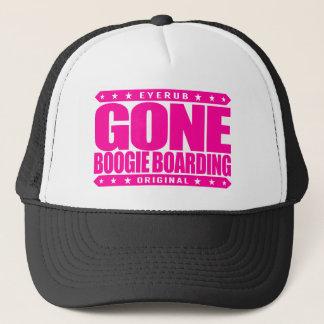 GONE BOOGIE BOARDING - I Love Ocean & Bodyboarding Trucker Hat
