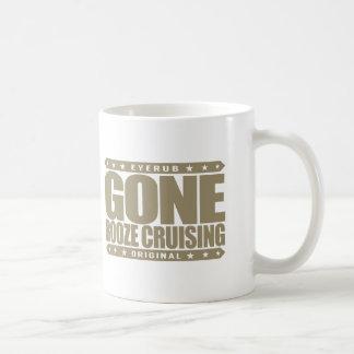 GONE BOOZE CRUISING - I Love Boats and Hard Drinks Coffee Mug