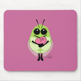 Gone Buggy Love Mouse Pad