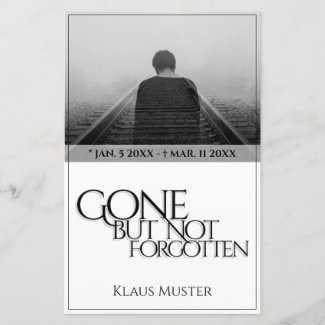 Gone but Not Forgotten - Bright
