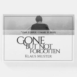 Gone but Not Forgotten - Bright Guest Book