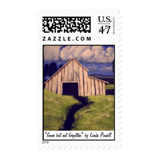 """Gone but not forgotten"" by Linda Powell~Postage Postage Stamp"