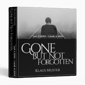 Gone but Not Forgotten - Dark 3 Ring Binder