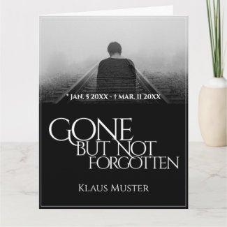 Gone but Not Forgotten - Dark Card