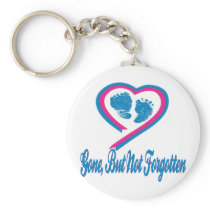 Gone But Not Forgotten Keychain