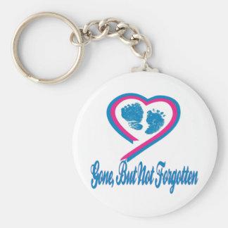 Gone But Not Forgotten Keychain