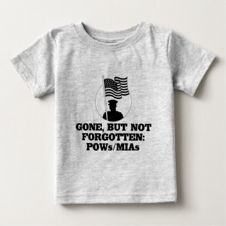Gone, but not forgotten: POWs/MIAs Baby T-Shirt