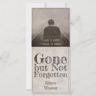 Gone but Not Forgotten - Vintage