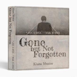 Gone but Not Forgotten - Vintage 3 Ring Binder