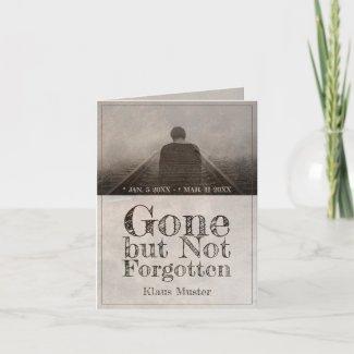 Gone but Not Forgotten - Vintage Card