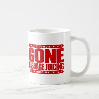 GONE CABBAGE JUICING - Love Cleansing Juice Detox Coffee Mug