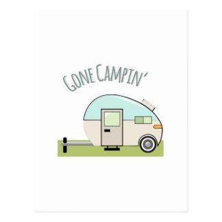 Gone Campin Postcards
