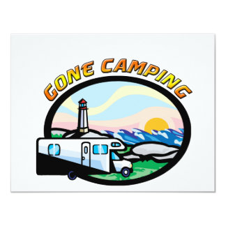 Gone Camping Card