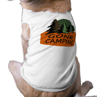 Gone Camping Happy Camper Shirt