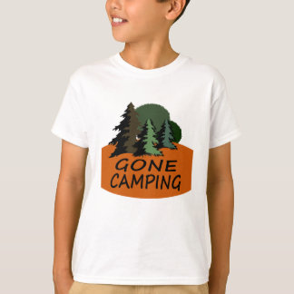 Gone Camping Happy Camper T-Shirt