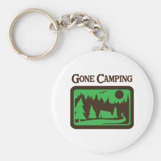GONE CAMPING KEYCHAIN
