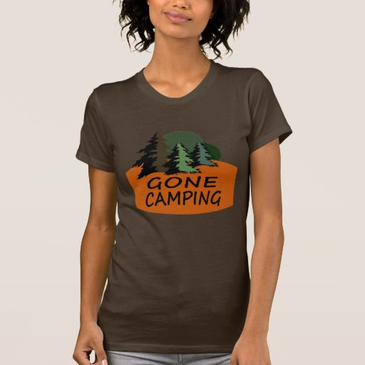 Gone Camping Tee Shirts