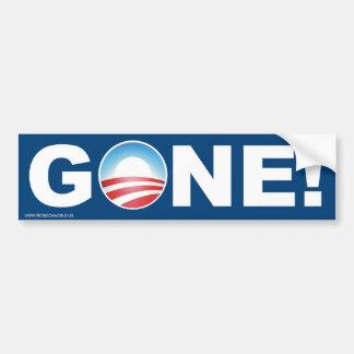 Gone! Car Bumper Sticker
