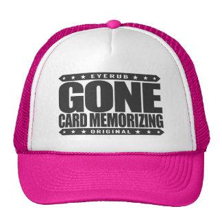 GONE CARD MEMORIZING - Expert Poker Player Memory Trucker Hat
