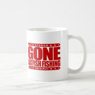 GONE CATFISH FISHING - I'm Proud Ethical Fisherman Coffee Mug