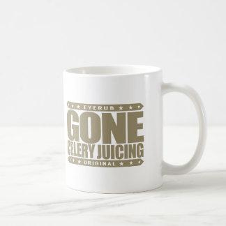 GONE CELERY JUICING - Love Juice Cleansing & Detox Coffee Mug