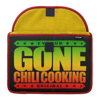 GONE CHILI COOKING - Master Chef With Slow Cooker Sleeve For MacBooks
