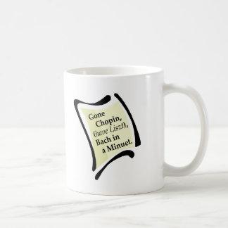 Gone Chopini Coffee Mug