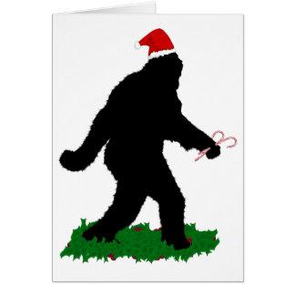 Gone Christmas , Gone Squatchin' Card