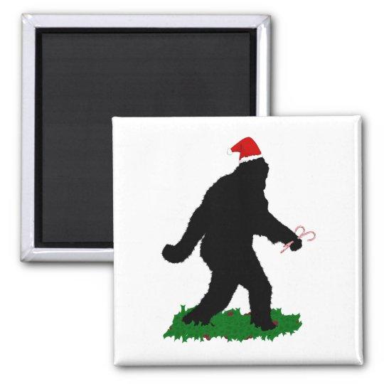 Gone Christmas , Gone Squatchin' Magnet