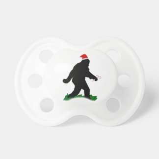 Gone Christmas , Gone Squatchin' Pacifier