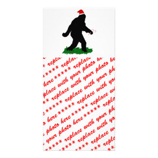 Gone Christmas , Gone Squatchin' Photo Card