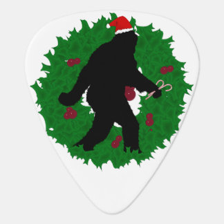 Gone Christmas Squatchin' With a Wreath Pick