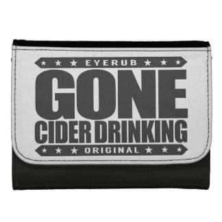 GONE CIDER DRINKING - I Love Fermented Apple Juice Women's Wallets