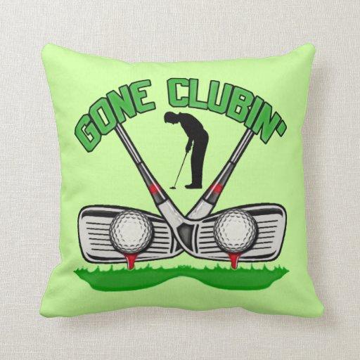 Gone Clubin' Pillow
