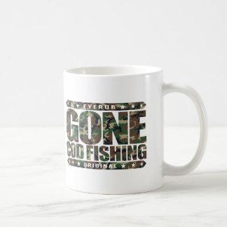 GONE COD FISHING - I Love Nature and Catching Fish Coffee Mug