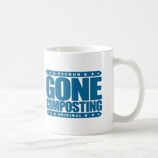 GONE COMPOSTING - Love Organic Farming, Gardening Coffee Mug