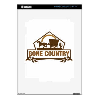 Gone Country - Country Living iPad 3 Skins