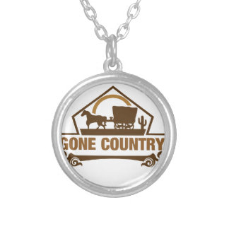 Gone Country - Country Living Silver Plated Necklace