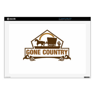 Gone Country - Country Living Skins For Laptops