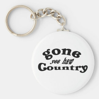 gone country keychain