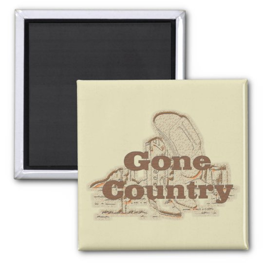 Gone Country...Magnet Magnet