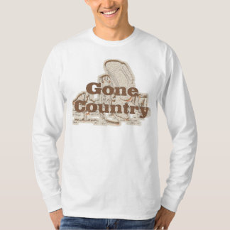 Gone Country...Mens' Basic Long Sleeve T-Shirt