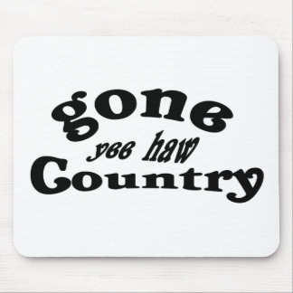 gone country mousepads