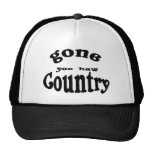 gone country trucker hat