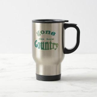 gone country yeehaw coffee mugs