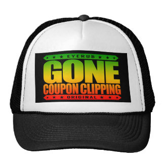 GONE COUPON CLIPPING - Love Coupons, Big Discounts Trucker Hat