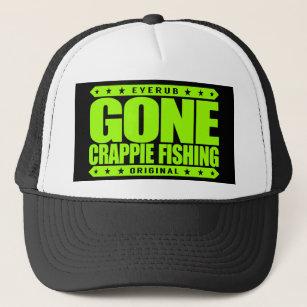 383254c428e00 GONE CRAPPIE FISHING - Proud Freshwater Fisherman Trucker Hat