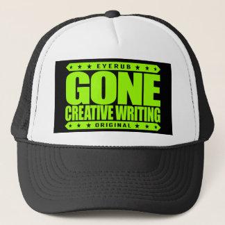 GONE CREATIVE WRITING - I Love to Craft Narratives Trucker Hat