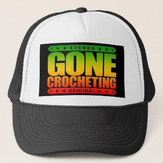 GONE CROCHETING - Queen Of Crochet Hook & Stitch Trucker Hat